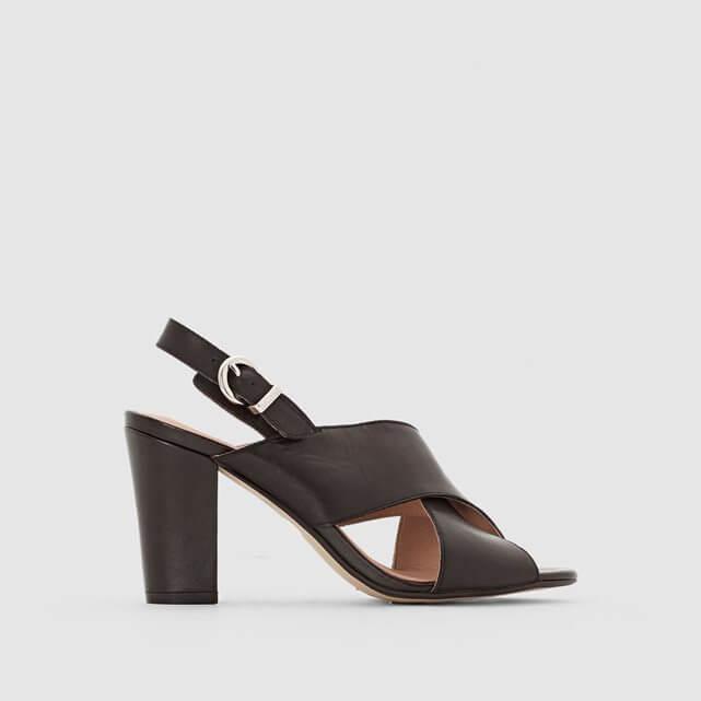 sandales noires talons LaRedoute L'atelier d'al blog mode lifestyle Paris