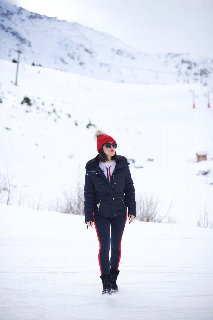 look Ski Arcs Club Med L'atelier d'al blog Mode lifestyle Paris