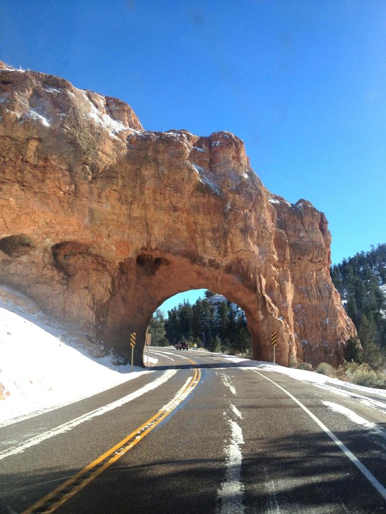 Zion national park USA Latelierdal road trip