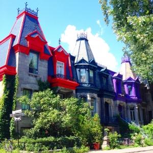Square St Louis Montreal été