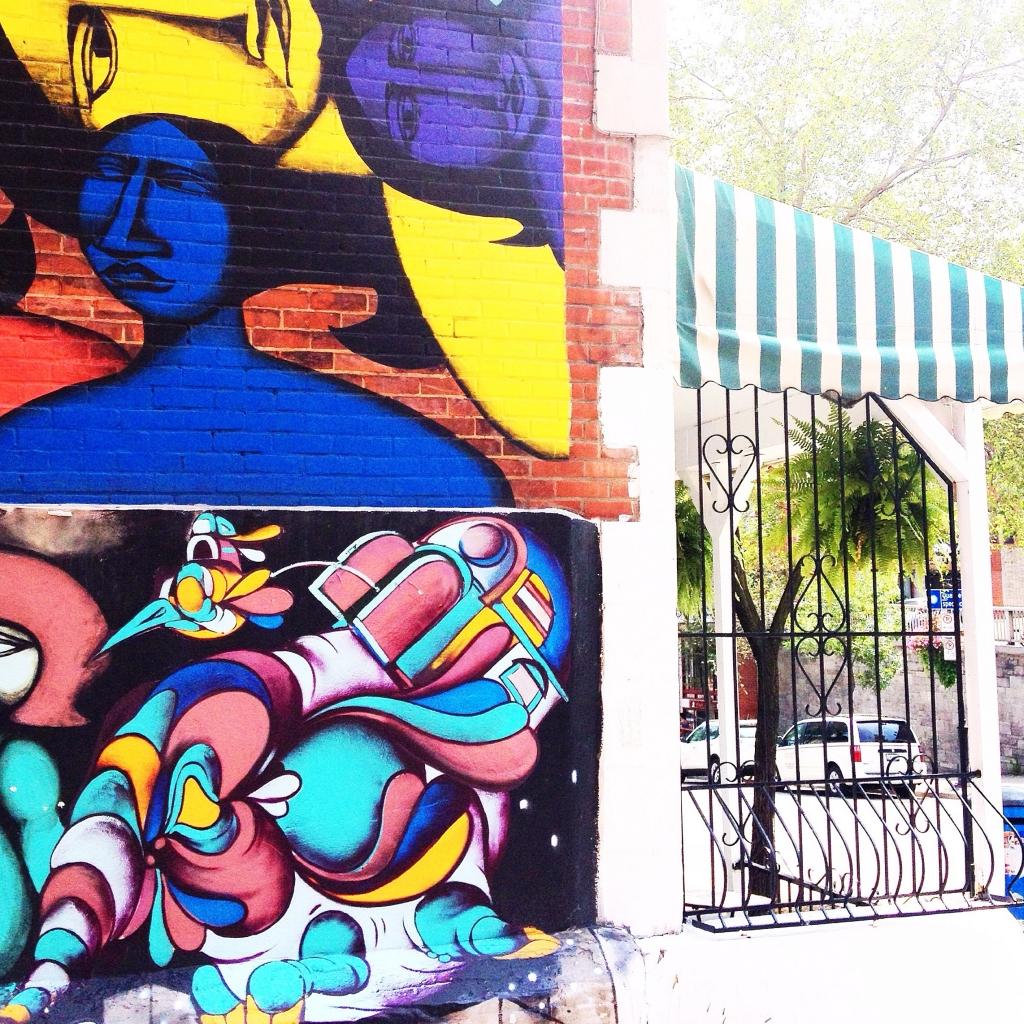 Street art tour Montréal par Latelierdal