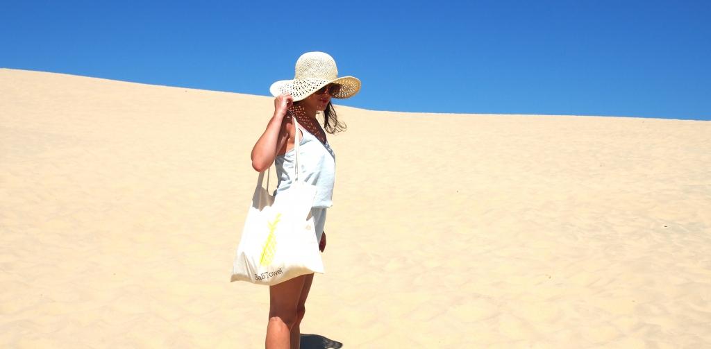 Look dune pyla Latelierdal Combinaison h&m