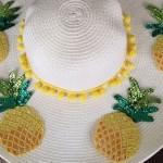 atelier customisation de chapeau capeline Boohoo L'atelier d'al blog mode diy lifestyle