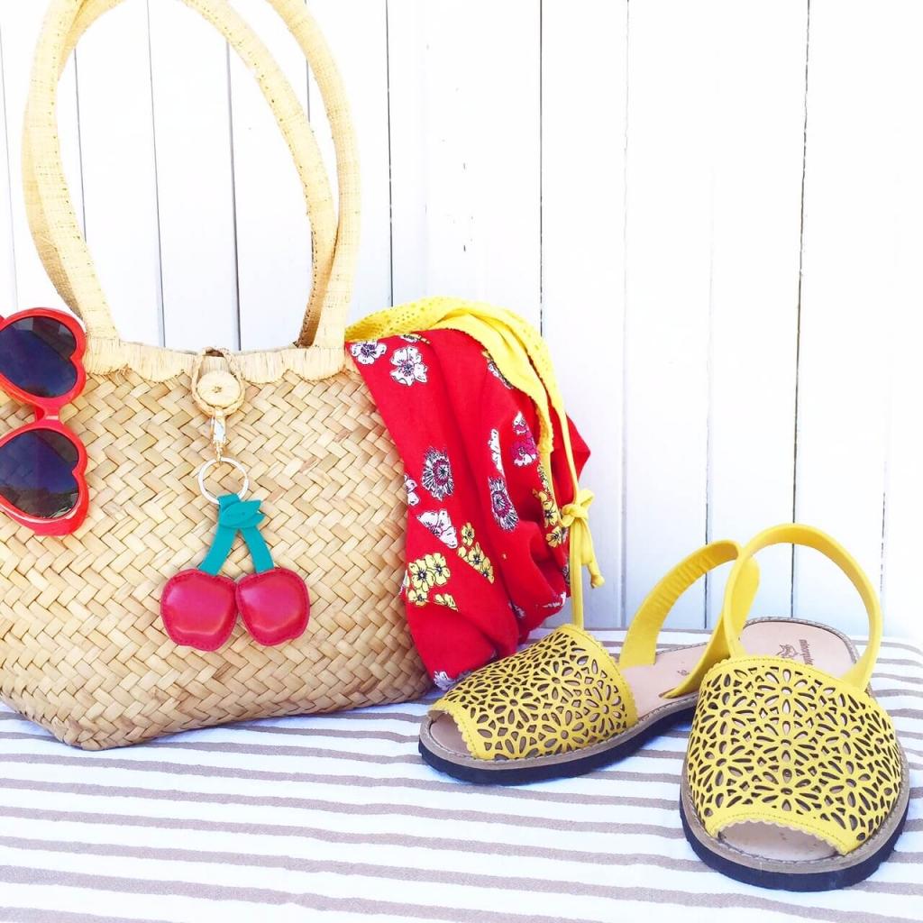 look d'été colorée Latelierdal blog mode et voyage