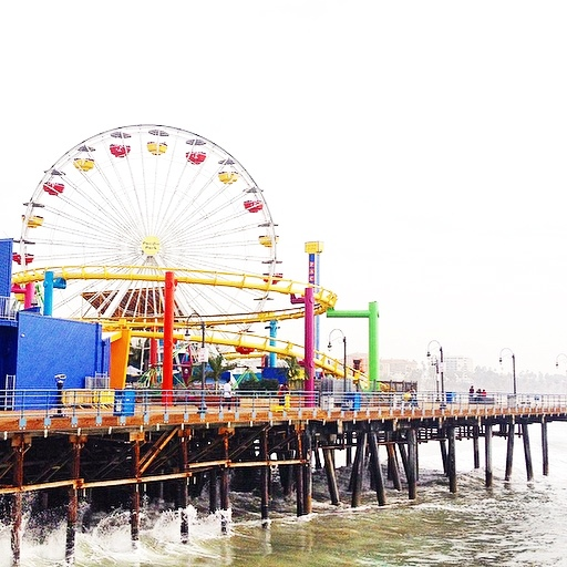 City guide Californie latelierdal Santa Monica
