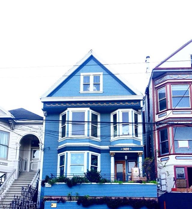City guide Californie latelierdal San Francisco la maison bleue