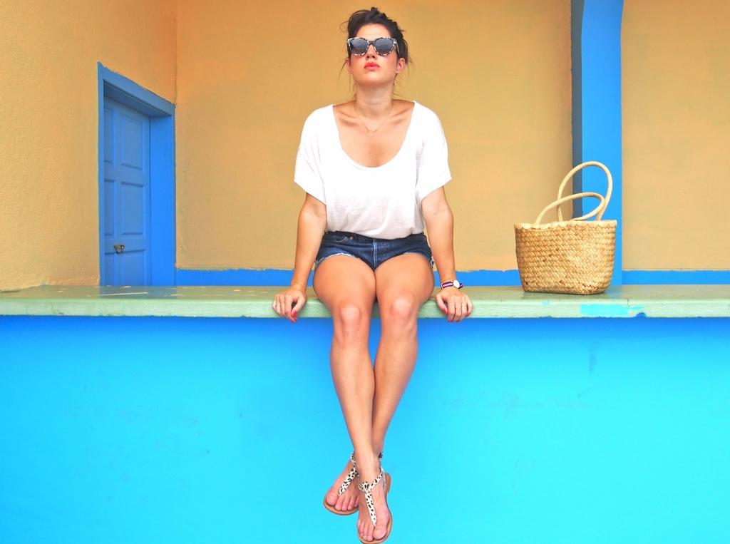 look été short Lévi's Latelierdal blog mode et voyage