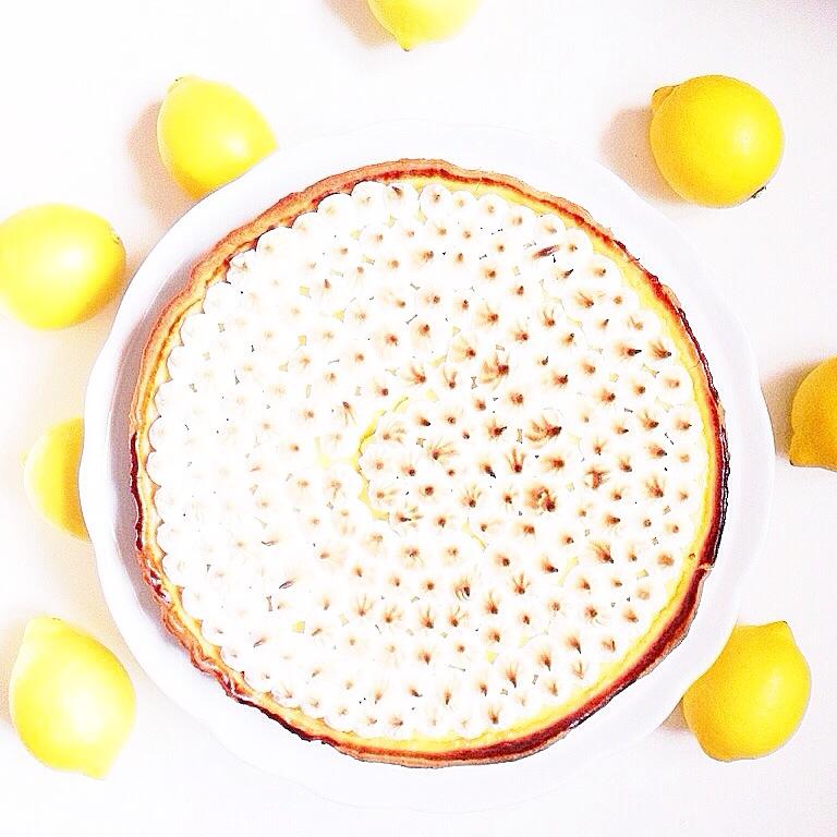 L'atelier d'al : Tarte aux citrons mernguée