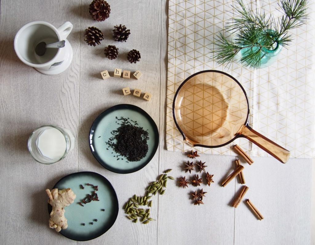 recette Chaï tea latte Latelierdal blog mode lifestyle