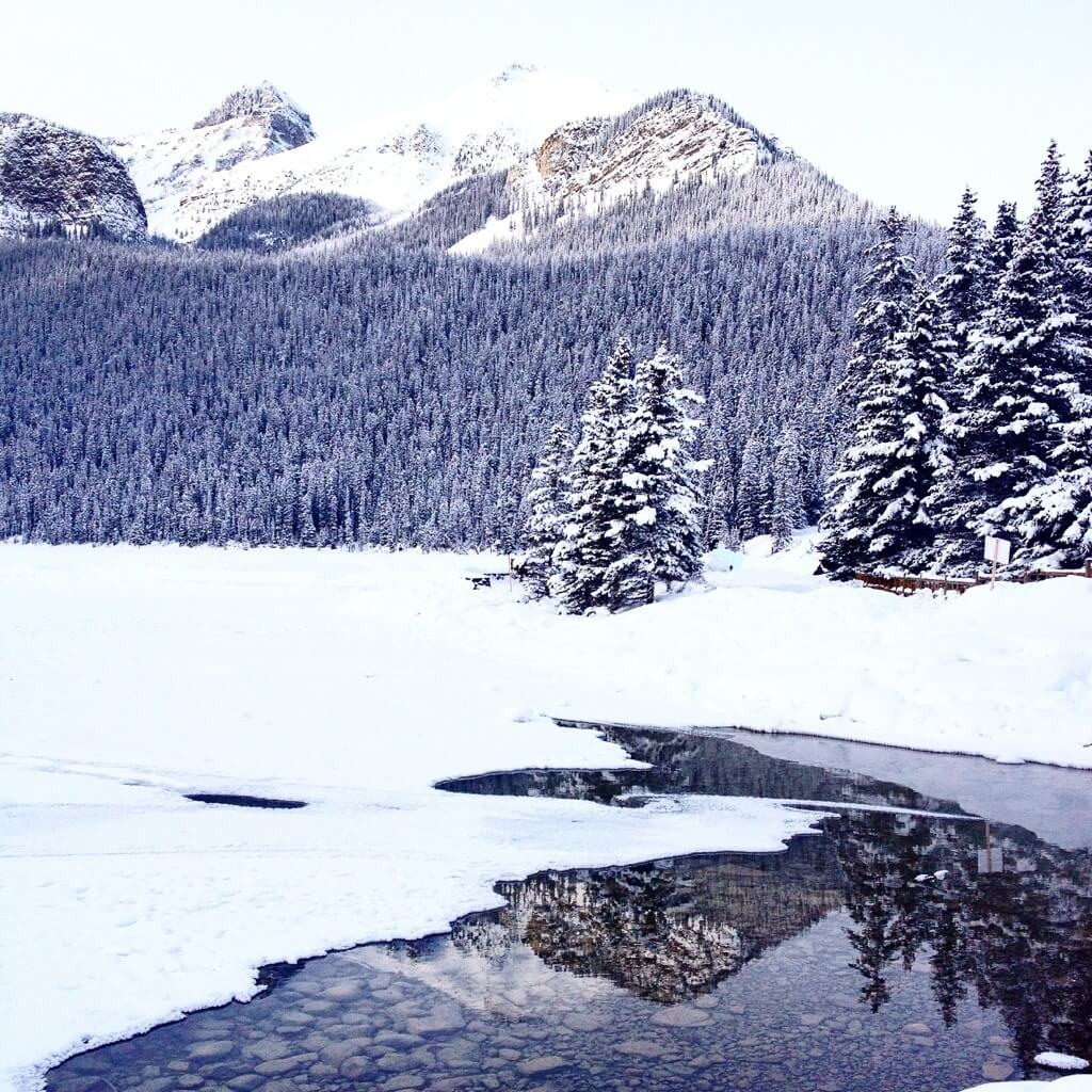 Canada neige Banff Hudson bay Latelierdal blog lifestyle voyage city guide