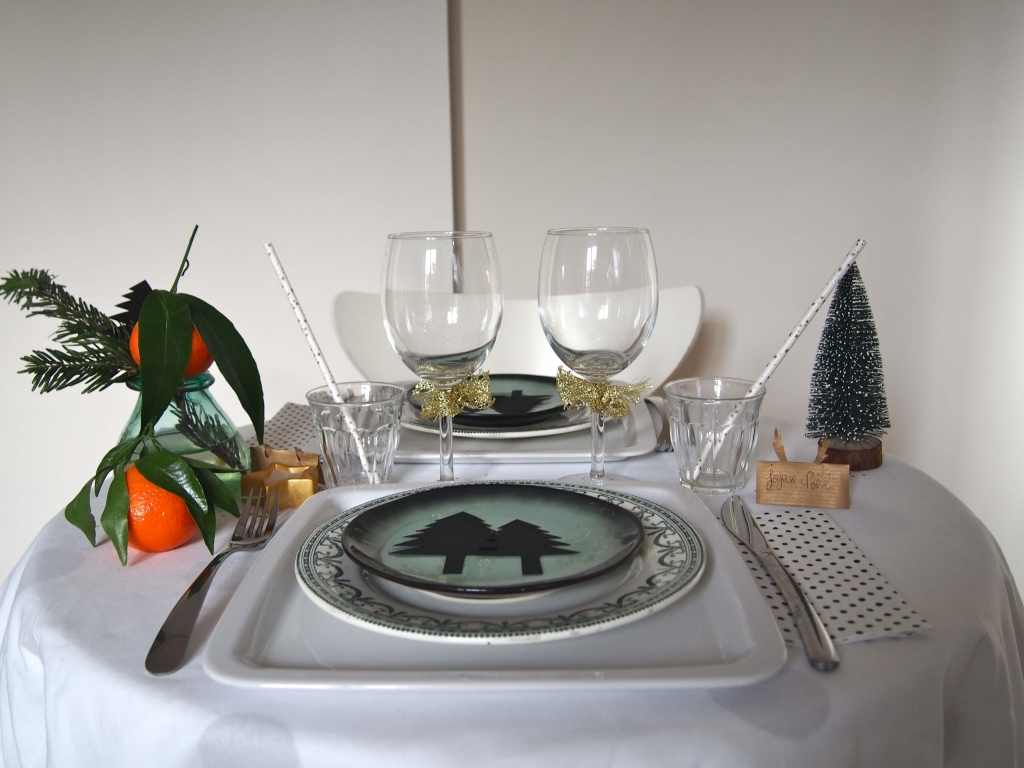Table et déco de Noël L'atelier d'al blog Lifestyle