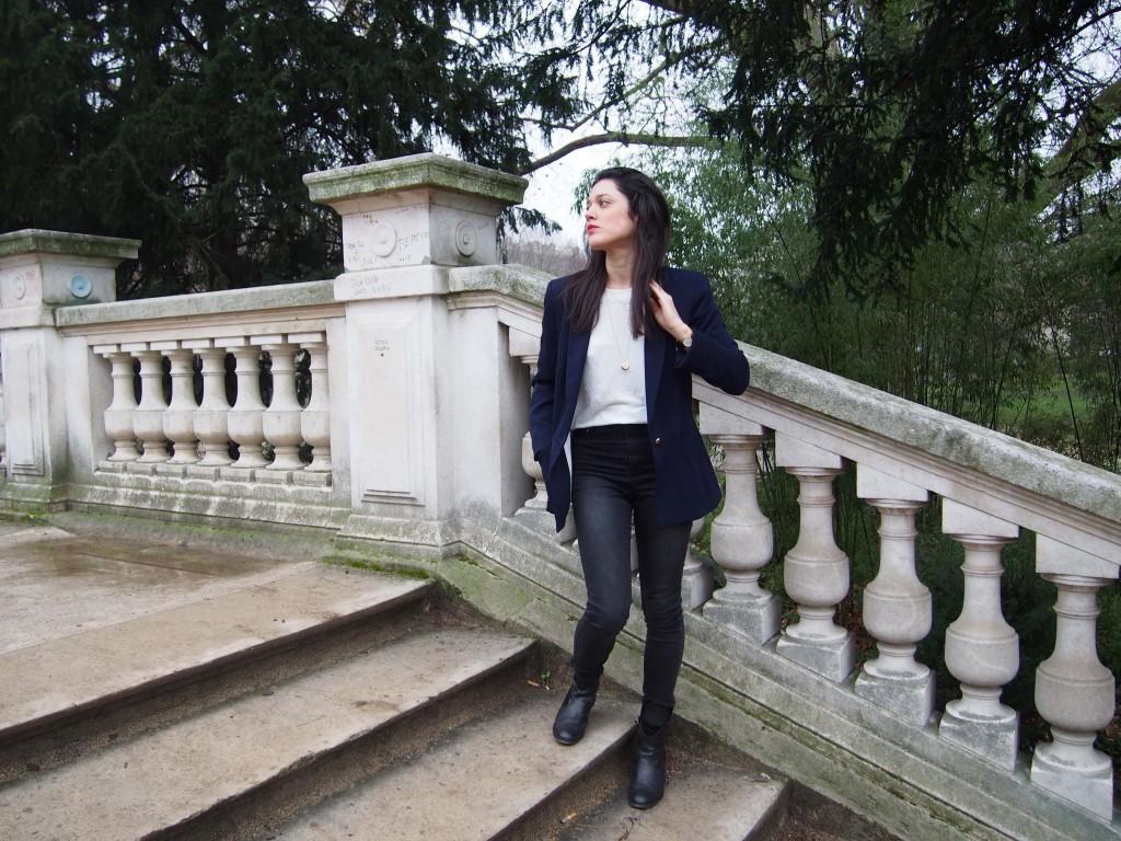 Comment je m'habille aujourd'hui ? Look latelierdal blog mode lifestyle