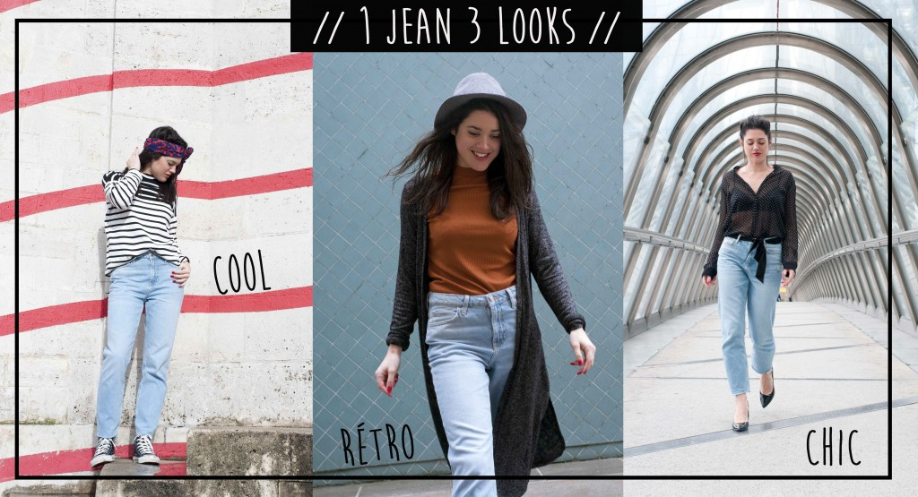 3 façons de porter un jean New Look latelierdal blog mode Paris