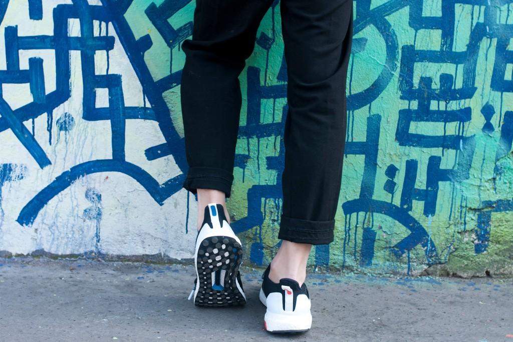 look baskets running adidas chic l'atelier d'al blog mode lifestyle paris