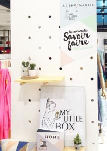 Les mercredis du savoir faire Nymphéa's factory My little box BHV latelierdal blog lifestyle
