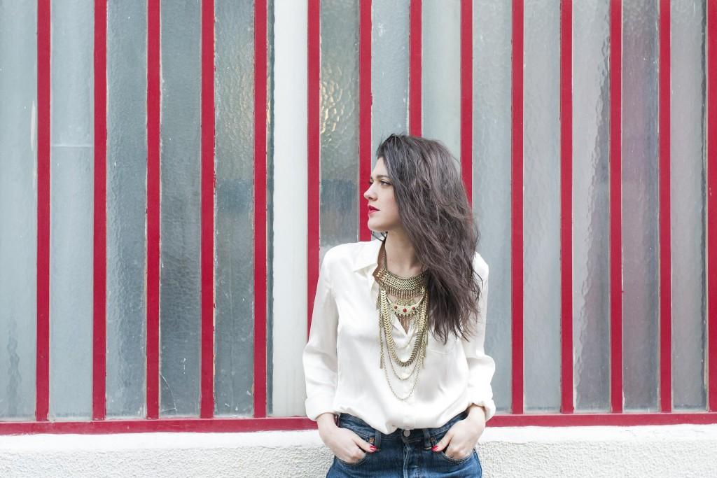 Look Diwali Paris collier ethnique L'atelier d'al blog mode lifestyle Paris