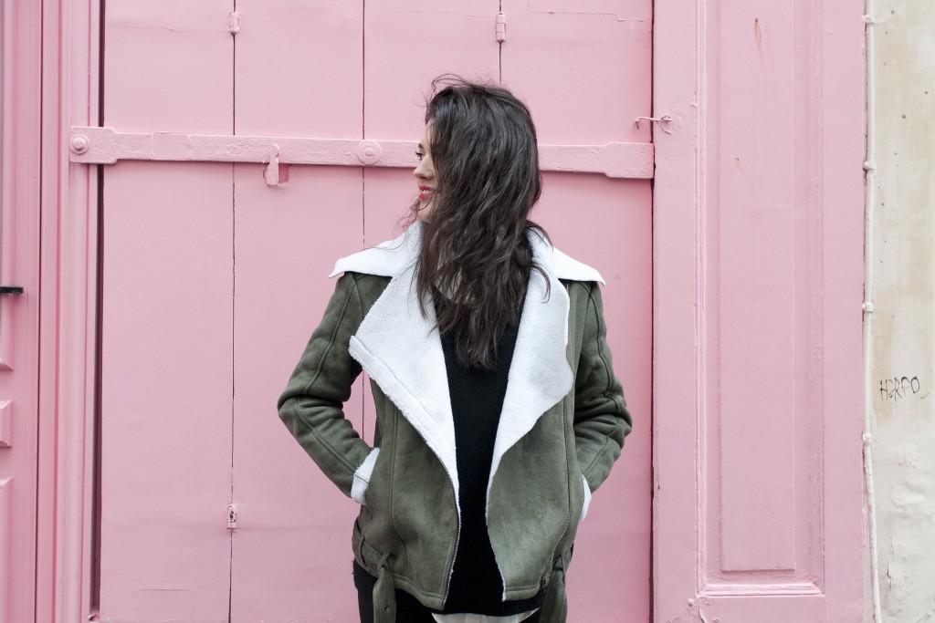 Perfecto Look SheIn SheInside L'atelier d'al blog mode lifestyle Paris