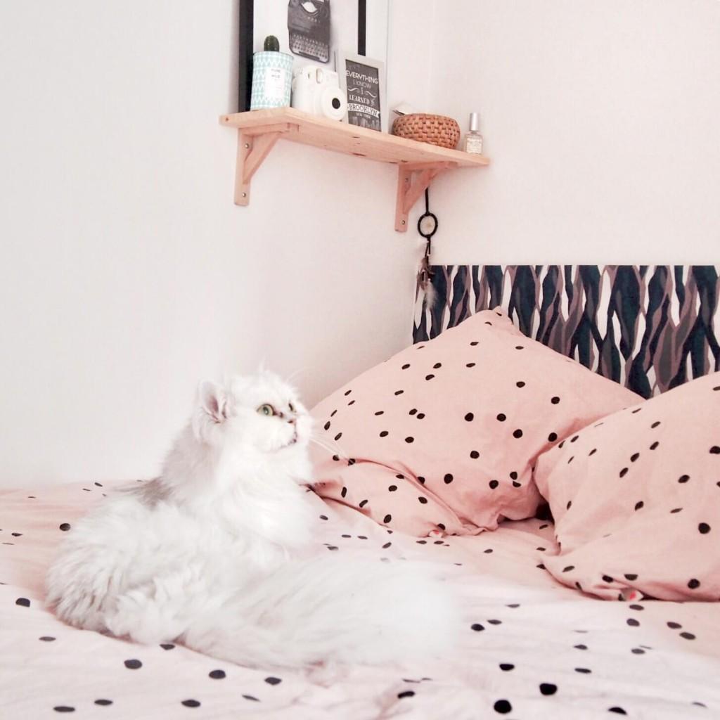DIY tête de lit tuto L'atelier d'al blog mode lifestyle