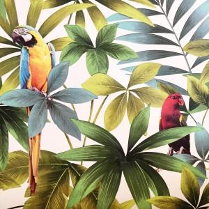 DIY tuto tête de lit tropicale L'atelier d'al blog mode lifestyle