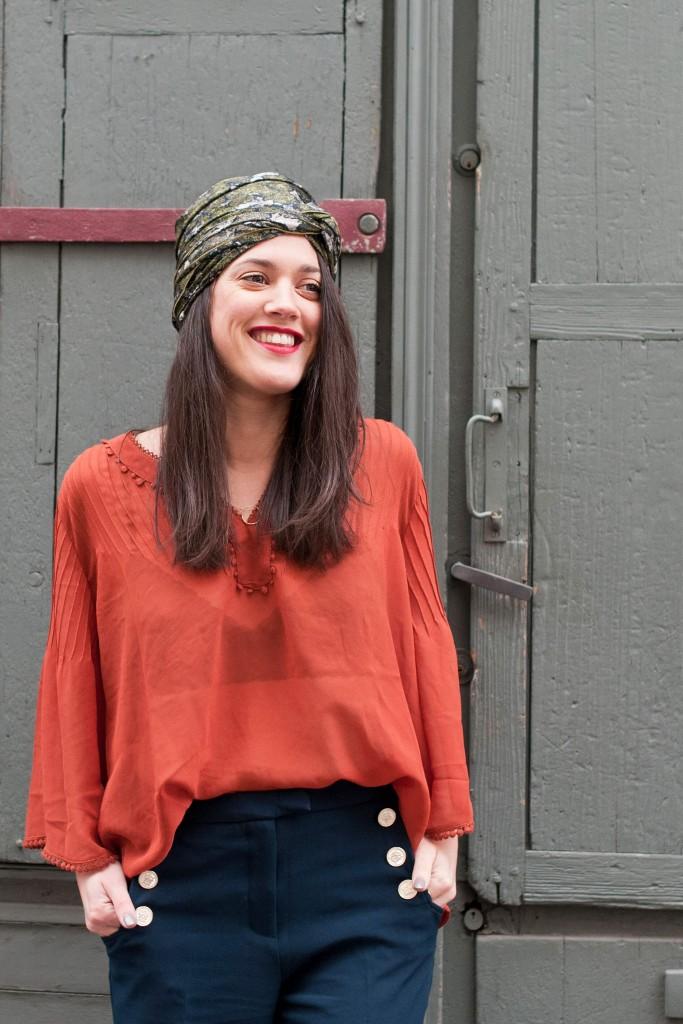 look bohème pantalon flare L'atelier d'al blog mode lifestyle Paris
