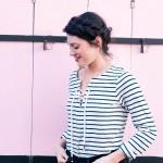 look marinière et couronne de tresse L'atelier d'al blog mode lifestyle Paris