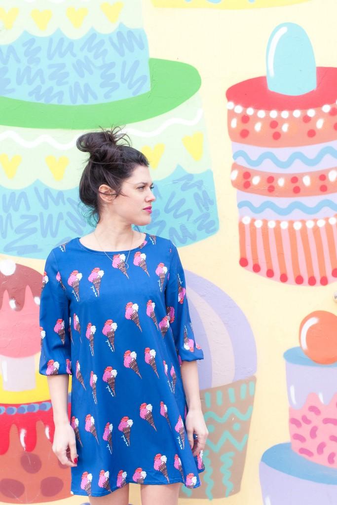 robe été SheIn glaces L'atelier d'al blog mode lifestyle Paris France