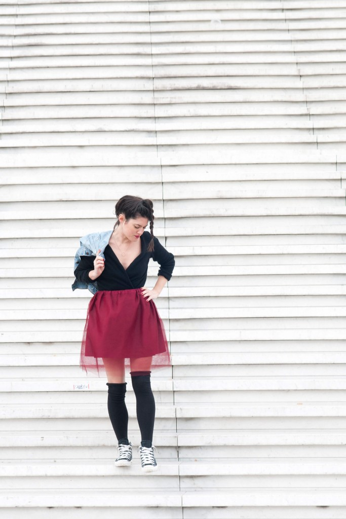 Look tutu Prunes L'atelier d'al blog mode DIY couture