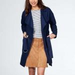 trench-fluide-ceinture-bleu-marine Kiabi L'atelier d'al blog mode