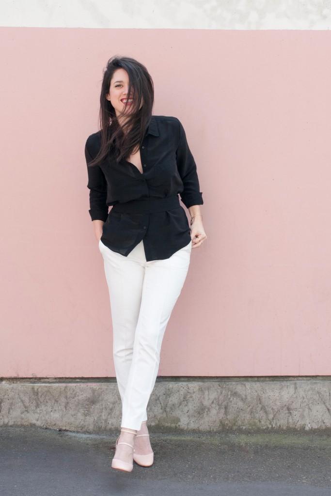 Look classy chic L'atelier d'al blog mode lifestyle Paris