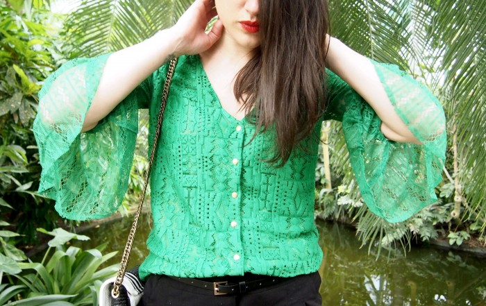 Look green Heimstone Serres D'Auteuil L'atelier d'al blog mode lifestyle Paris