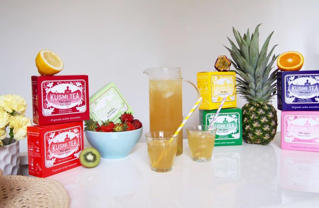 Kusmi tea Thé glacé L'atelier d'al blog mode lifestyle