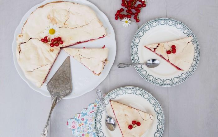 Tarte d'été meringuée aux groseilles L'atelier d'al blog lifestyle, food, mode, DIY