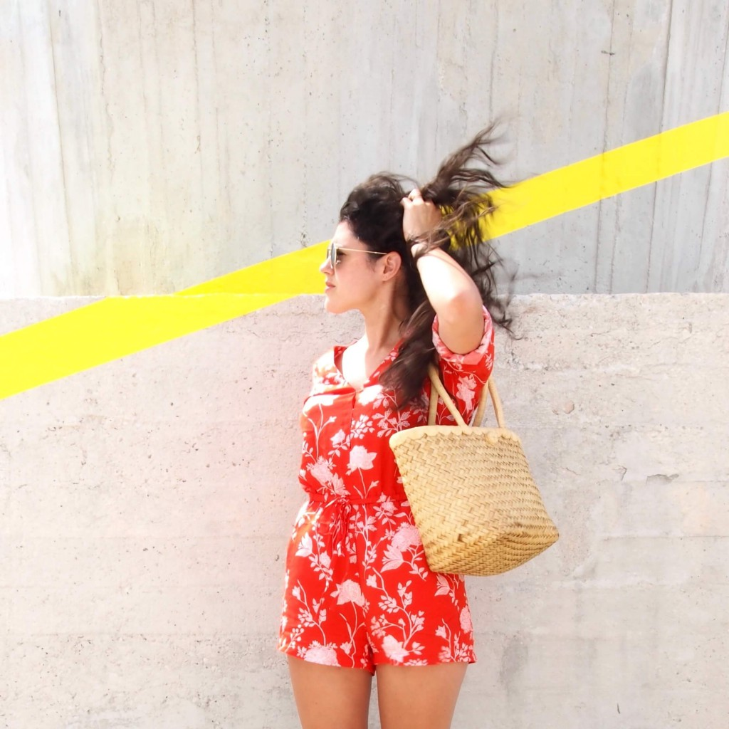 look été combinaison short h&m L'atlier d'al blog lifestyle mode DIY voyage Paris Bordeaux