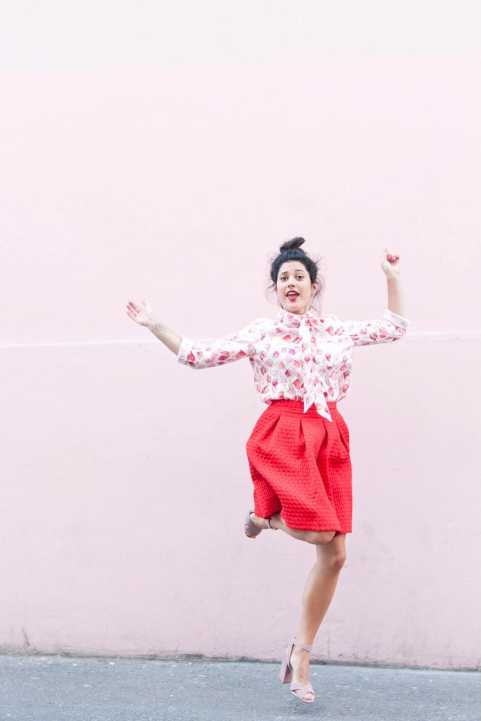 look Wear Lemonade chemise Simona L'atelier d'al blog mode lifestyle DIY Paris Bordeaux