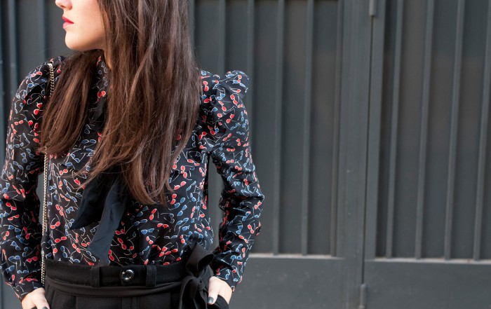 look Claudie Pierlot L'atelier d'al blog mode liefestyle DIY travel Paris bordeaux