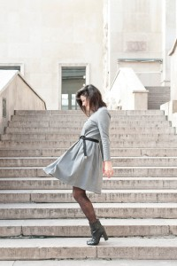 Robe en jean Balzac Paris L'atelier d'al blog mode lifestyle