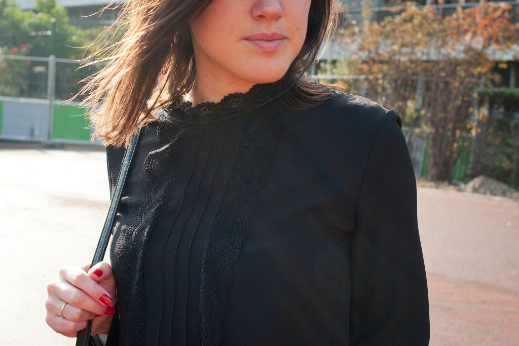 look jean 501 vintage blazer L'atelier d'al Blog mode lifestyle Paris
