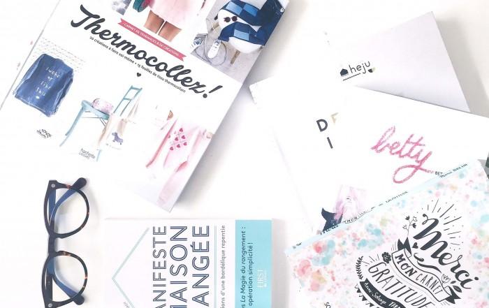 les livres des blogueurs L'atelier d'al blog lifetsyle mode Paris