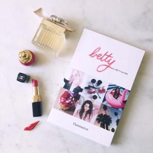 Betty les livres des blogueurs L'atelier d'al blog lifetsyle mode Paris