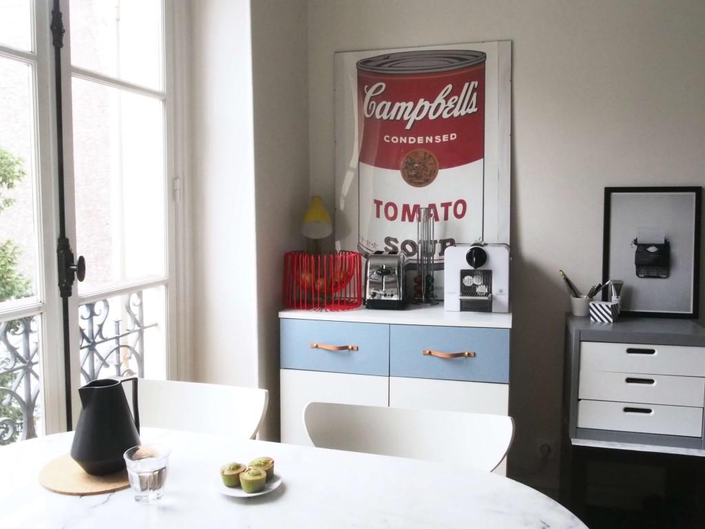 DIY nouvelle vie pour meuble d'étudiante L'atelier d'al blog lifestyle mode DIY Paris Bordeaux