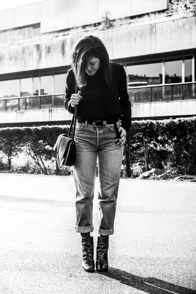 look jean 501 vintage blazer L'atelier d'al Blog mode lifestyle Paris