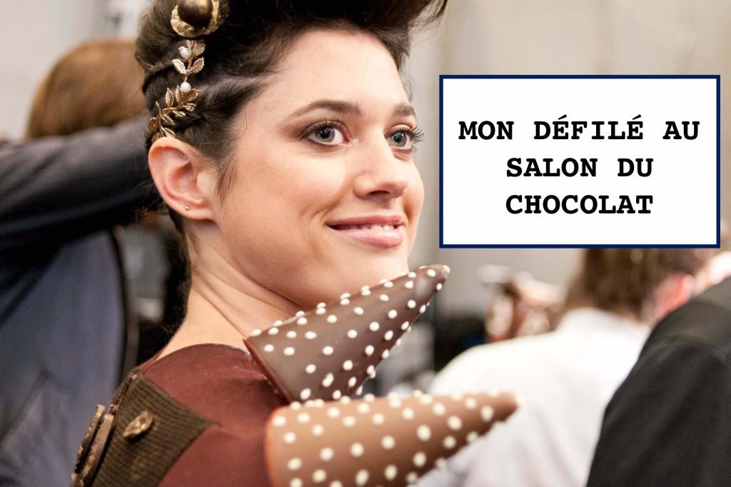 défilé salon chocolat Paris L'atelier d'al blog mode lifetsyle