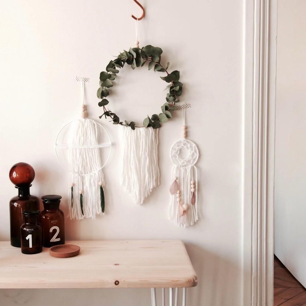 DIY tuto Attrape rêves L'atelier d'al blog mode lifestyle DIY Paris