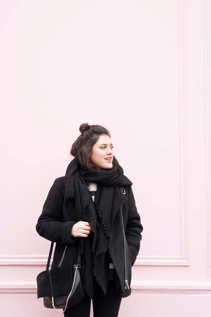 look hiver bombardier L'atelier d'al blog mode Paris
