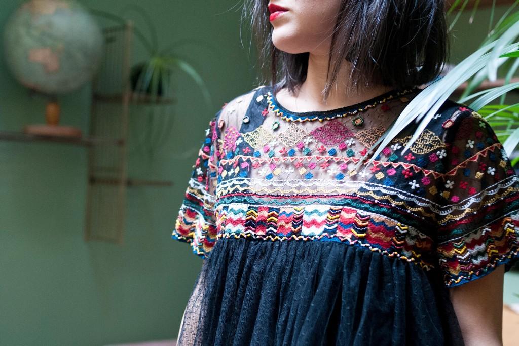 look de Noël l'atelier d'al blog mode lifestyle Paris
