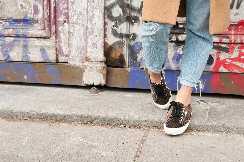 look basket léopard Superga L'atelier d'al blog mode lifestyle DIY Paris Bordeaux
