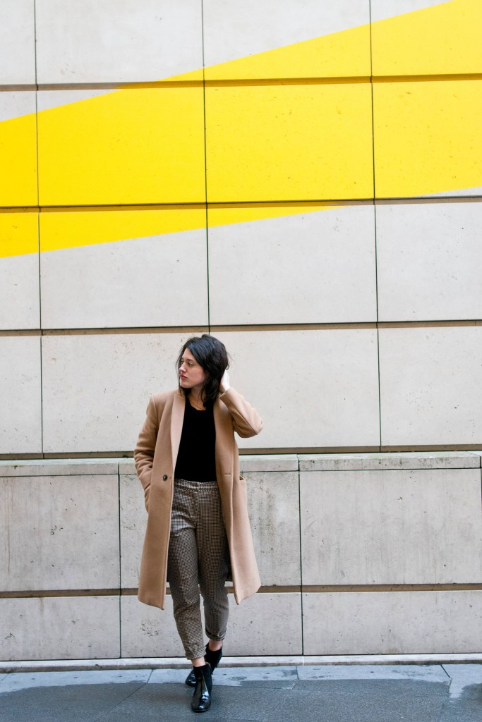 Look H&m Soldes camel L'atelier d'Al blog mode lifetsyle DIY Paris