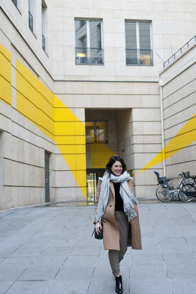 Look H&m Soldes camel L'atelier d'Al blog mode lifetsyle DIY Paris