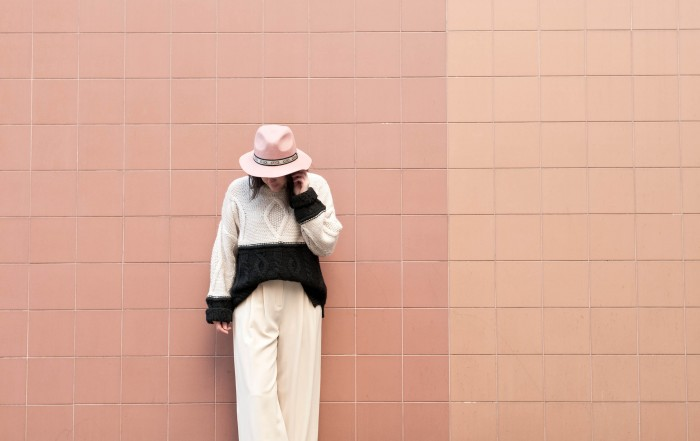 look nude pull hm l'atelier d'al blog mode lifestyle Paris