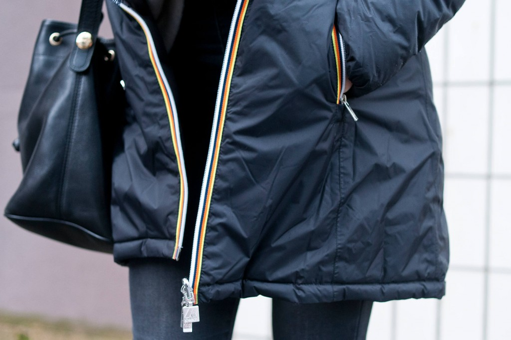 Look Kway doudoune L'atelier d'al blog mode lifestyle Paris